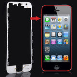 OEM Version LCD Frame for iPhone 5(White)