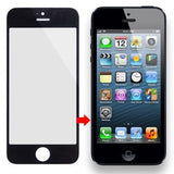 Online Buy Front Screen Outer Glass Lens for iPhone 5 & 5S (Black) | South Africa | Zasttra.com