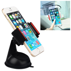 Baseus Universal 360 Degrees Rotation Super Suction Cup Car Mount Holder(Black)