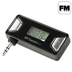 3.5mm Jack FM Transmitter for iPhone 5 / iPhone 4 & 4S / Samsung / HTC / Nokia / Other Audio Devices with 3.5mm Jack
