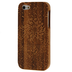 Fairworks Pattern Wood & Bamboo Material Detachable Wood Material Case for  iPhone 5
