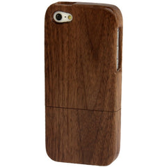 Detachable Rosewood Material Case for iPhone 5