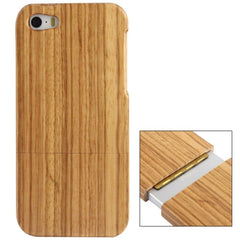 Detachable Zebra Wood Material Case for iPhone 5 & 5s & SE