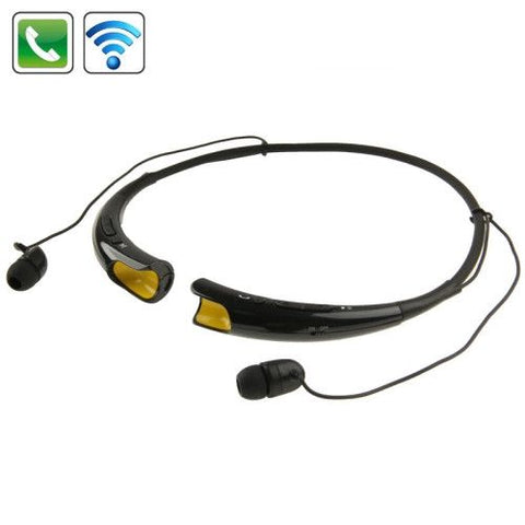 Sport Necklace Bluetooth 4.0 Stereo Headset HBS-740 (Black)
