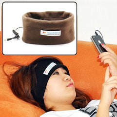 Headband Sleeping Headphones (Coffee)