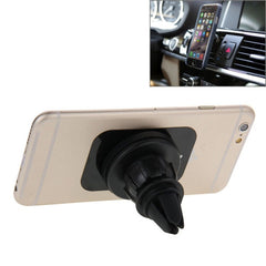 360 Degrees Rotating Strong-Magnetic Suction Cup Car Mount Holder for iPhone 6 & 6 Plus iPhone 5 & 5C & 5S Samsung Galaxy S6 / S5 / S IV Sony Nokia Huawei Lenovo(Black)