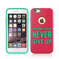 Baseus Fashion Style Series TPU+PC Protective Case for iPhone 6 & 6s(Pink)