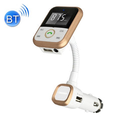 BT67 Bluetooth Car Kit MP3 Player FM Transmitter with Remote Control 5V 2.1A USB Car Charger for iPhone 6 / iPad / Samsung Galaxy S6 / Mobile Phone