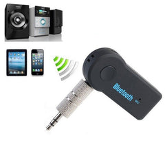 Car Bluetooth Handsfree Music Mic Receiver