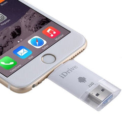 32GB 2 in 1 Micro USB 2.0 & 8 Pin USB iDrive iReader Flash Memory Stick for iPhone 6 & 6s iPhone 6 Plus & 6s Plus Samsung Galaxy S6 / S5