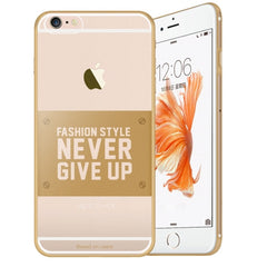 Baseus for iPhone 6 Plus & 6s Plus VOGUE Series Ultra-thin TPU Soft Protective Case (Gold)