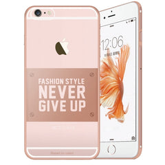 Baseus for iPhone 6 Plus & 6s Plus VOGUE Series Ultra-thin TPU Soft Protective Case(Rose Gold)