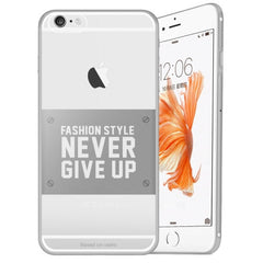 Baseus for iPhone 6 Plus & 6s Plus VOGUE Series Ultra-thin TPU Soft Protective Case(Silver)