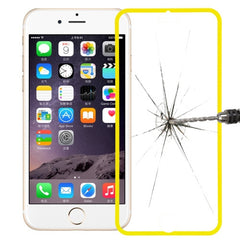 Link Dream Premium 0.33mm Tempered Glass Screen Protector with Holder for iPhone 6 Plus(Yellow)