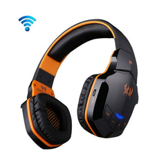 KOTION EACH B3505 Wireless Bluetooth 4.1 Stereo Gaming Headset Support NFC with Mic for iPhone6 / iPhone6 Plus / Samsung / HTC Sony (Black + Orange)