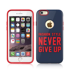 Baseus Fashion Style Series TPU+PC Protective Case for iPhone 6 Plus & 6s Plus(Dark Blue)