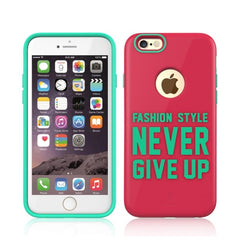 Baseus Fashion Style Series TPU+PC Protective Case for iPhone 6 Plus & 6s Plus(Pink)