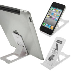 Plastic Holder for New iPad (iPad 3) / iPad 2 / iPad iPhone 4 & 4S E-BOOK(White)