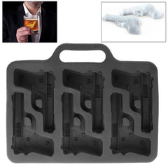 Pistol Shape Ice Box(Black)