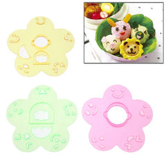 Cute Style DIY Bento Meal Molds Set (3pcs in one packaging the price is for 3pcs)
