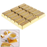 Creative Gold Bar Shaped Anti-slip Heat Insulation Mat for Dishware