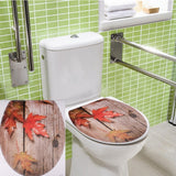 Toilet Seat Decal / Wall Mural Art Decor Bathroom