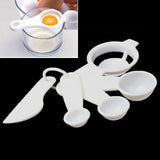 5pcs one Set Combined Condiment Spoon