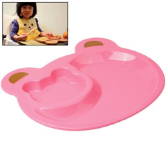 Cute Bear Style Food Tray for Children (Pink)
