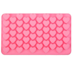 Creative Heart Shape 55-Grid Ice Cube Tray
