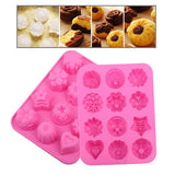 Pudding Design 12-Grid Ice Mold Ice Tray