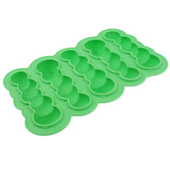 Cool Caterpillar 3D Shape 5-Grid Ice Cube Tray (Random Color Delivery)