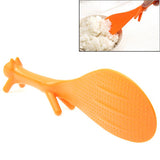 The Lovely Anya Creative Squirrel Shape Nonstick Tables Rice Scoop (Orange)