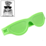 Lay's Band Bag Clips / The Snack Protector / Sunglasses Design (Green)