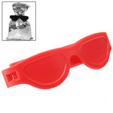 Lay's Band Bag Clips / The Snack Protector / Sunglasses Design (Red)
