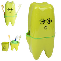 Cute Fashion Tooth Guards Wash Set/Toothbrush Holder+Gargle Cup/Tooth Article Seat/Bathroom Suite