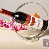 Stainless Steel Red Wine RackSize:27x25x9cm
