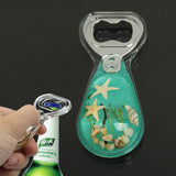 Amber Style Green Pattern Design Bottle Opener Soda Cola Beer Decapper