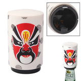 Peking Opera Facial Masks Style Automatic Bottle Opener for Twist-off Regular Caps