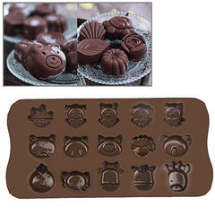 Animal Style Silicon Chocolate Mold Cake Mold