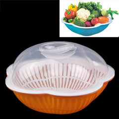 Water Dripping Vegetables & Fruit Wash Clean Basket / Kitchen Storage Basket / Sifter Vegetables Basket