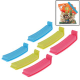 6 PCS Food Storage Bag Sealing Clips Sealer Food Clip