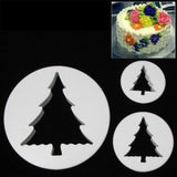 3 PCS Christmas Tree Shape Food Processing Machine for Soft Biscuit Machine / Cake Biscuit Moulds