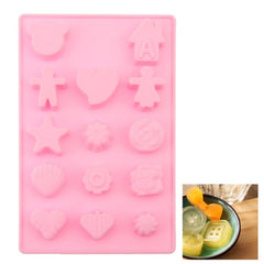 Creative Cartoon Shape 14-Grid Ice Cube Tray