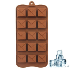 Creative Square Shape 15-Grid Ice Cube Tray