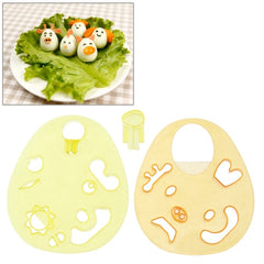 Cartoon Sushi Rice Egg Mold Cutter Fondant Cake Cookie Chocolate Modelling Tools