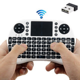 Rii 2.4GHz 92 Keys Mini Wireless Keyboard Mouse Combo with Touchpad