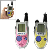 One Pair of 100m 2-Way Radio Walkie Talkie Game Handheld Game Console with 9-Kind Games