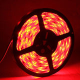 5050 SMD Epoxy Waterproof Red LED Light Strip 30 LED/m and Length: 5m