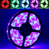 5050 SMD Casing Waterproof RGB LED Light Strip 30 LED/m and Length: 5m