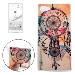 0.3mm Ultra-thin National Style Cap Pattern TPU Protective Case for Sony Xperia Z5 Compact